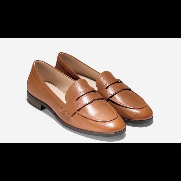 99e38bc1343 Cole Haan Pinch Grand Penny Loafer in British Tan